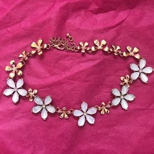 Anthropologie Flower Child Choker Necklace